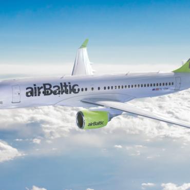 Airbaltic'u uus lennuk CS300
